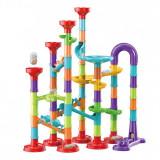 Circuit a bille 93 pieces jouet enfant construction parcours