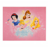 Tapis Princesse 125 x 95 cm Digital Aurore Belle Cendrillon