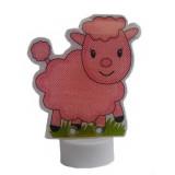 Lampe veilleuse à poser à led cochon