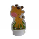 Lampe veilleuse à poser à led girafe