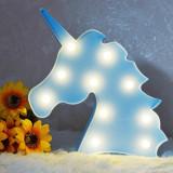 Lampe veilleuse Licorne LED Bleu Unicorne