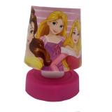 Lampe veilleuse Princesse Touch enfant Push Led chevet