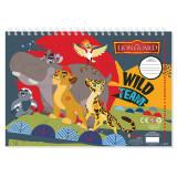 Cahier de dessin Le Roi Lion livre de coloriage A4 + Stickers autocollant