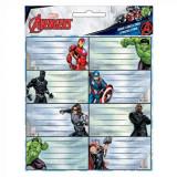 Lot de 16 étiquette Avengers Disney cahier enfant ecole voiture