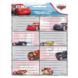 Lot de 16 étiquette Cars Disney cahier enfant ecole voiture