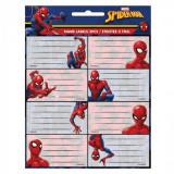 Lot de 16 étiquette Spiderman Disney cahier enfant ecole voiture
