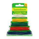 Lot de 75 elastique multicolores 5 tailles cuisine papeterie menage