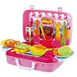 Malette cuisine 22 x 24 cm jouet valise 29P dinette enfant