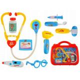 Valise de docteur son lumiere jouet lunette stethoscope seringue mallette enfant