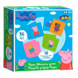 Jeu Memo Peppa Pig Memory 36 pieces 16 paires
