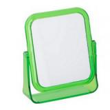 Miroir grossissant x 2 à poser maquillage vert