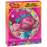 Horloge murale Poppy Les Trolls Disney Enfant