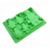 Moule en silicone bonhomme Lego pour chocolat glaçon gateau