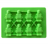 Moule en silicone 8 bonhomme Lego gateau chocolat glaçon