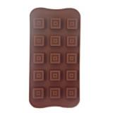 Moule en silicone carré pour chocolat glaçon