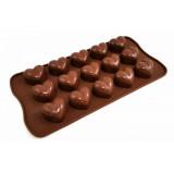 Moule en silicone coeur pour chocolat glaçon