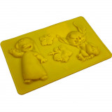 Moule en silicone Lilo et Stitch chocolat Disney