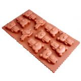 Moule en silicone ourson pour chocolat glaçon ours