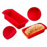 Moule rectangle en silicone anti adhésif 29cm rectanculaire cake gateau patisserie