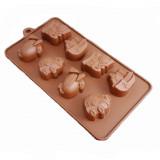 Moule en silicone avion train bateau voiture pour chocolat glaçon