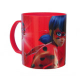 Tasse Miraculous Ladybug, mug plastique Gim