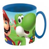 Tasse plastique Nintendo Mug enfant Micro onde Mario Bross