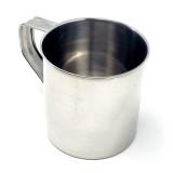 Mug en metal grande tasse privilege réutilisable
