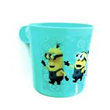 Tasse plastique Les minions Mug enfant bleu