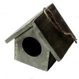 Nichoir pour oiseau en bois jardin hiver mangeoire maison