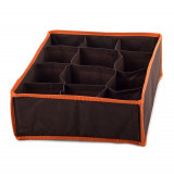 Organisateur rangement 12 case compartiment armoire tiroir tissus