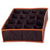 Boite de rangement 16 case compartiment armoire tiroir tissus O