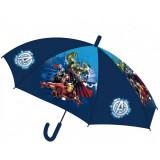 Parapluie Avengers enfant semi-automatique bleu
