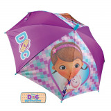 Parapluie Doc La Peluche automatique enfant fille Disney Doc Mc Stuffins