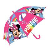 Parapluie Minnie Arc en ciel rose enfant