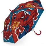 Parapluie Spiderman enfant araignée toile bleu rouge
