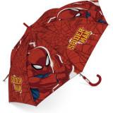 Parapluie Spiderman enfant araignée toile rouge