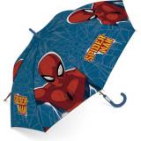 Parapluie Spiderman enfant araignée toile bleu
