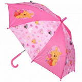 Parapluie Winnie l'Ourson Disney enfant rose