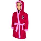 Peignoir polaire Minnie 12 ans robe de chambre capuche F