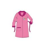 Peignoir polaire Pat Patrouille 2 ans rose clair, robe de chambre