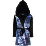 Peignoir polaire Star Wars 4 ans robe de chambre capuche noir