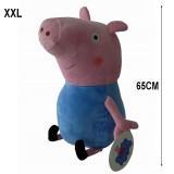 Geante !!! Peluche Georges frere de Peppa Pig 65 cm