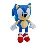 Peluche Sonic 28 cm Bleu Ecureuil