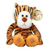 Tigre en peluche 55 cm XL Geant Velcro Scratch