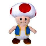 Peluche Toad 28 cm Mario Bross Nintendo