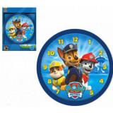 Horloge murale La Pat Patrouille bleu 3ch