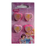 Lot de 4 pince crabe Princesse Disney fille