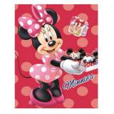 Plaid polaire Minnie Mouse Couverture patisserie