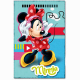 Plaid polaire Minnie Mouse couverture STAR bleu