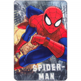 Plaid polaire Spiderman couverture enfant Disney montre